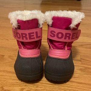 Toddler / baby girl Sorel boots
